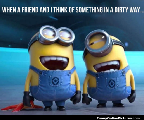 Super funny picture of the minions from the popular 2010 movie ...